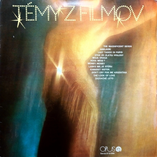 LP Orchestra Of The Meritorious Artist Gustav Brom ‎– Témy Z Filmov