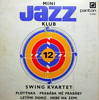 "7"" Swing Kvartet ‎– Mini Jazz Klub 12"